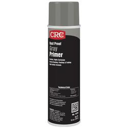 CRC® 18150 Extremely Flammable Rust Proof Primer, 20 oz, Liquid, Gray, 25 to 40 sq-ft, 15 to 30 min Curing