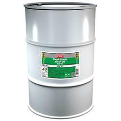 CRC® 04247 Combustible Gear Oil, 55 gal Drum, Mild Odor/Scent, Liquid Form, Food/SAE 90/ISO 150/220 Grade, Clear