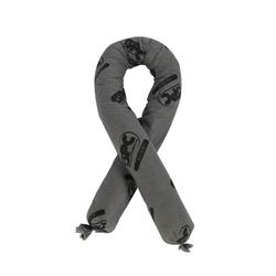 SPC® ALLWIK® AW430 All Purpose Flexi-Sock Absorbent Sock, 3 in Dia x 4 ft L, 30 gal Absorption, Fluids Absorbed: Universal, Polypropylene, Gray