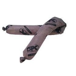 SPC® SLIKWIK® SW46 All Purpose Corncob Filled Flexi-Sock Absorbent Sock, 3 in Dia x 42 in L, 20 gal Absorption, Fluids Absorbed: Universal, Corn Cob, Brown