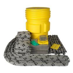 SPC® ALLWIK® SKA-95 Overpack Spill Kit, 95 gal Drum, Fluids Absorbed: Universal