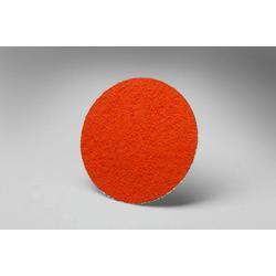 3M™ 051144-14661 777F Close Close Coated Abrasive Disc, 2 in Dia Disc, 80 Grit, Medium Grade, Ceramic Abrasive, Type TR Attachment