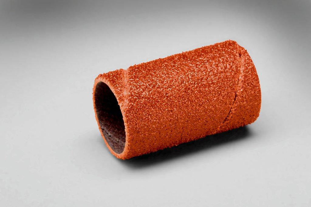 3M™ 051144-80765 747D Coated Spiral Band, 1/2 in Dia x 1 in L Band, 50 Grit, Coarse Grade, Ceramic Abrasive