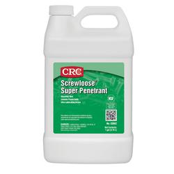 CRC® 03062 Screwloose® Combustible Flammable Super Penetrant, 1 gal Bottle, Liquid, Light Amber, 0.8