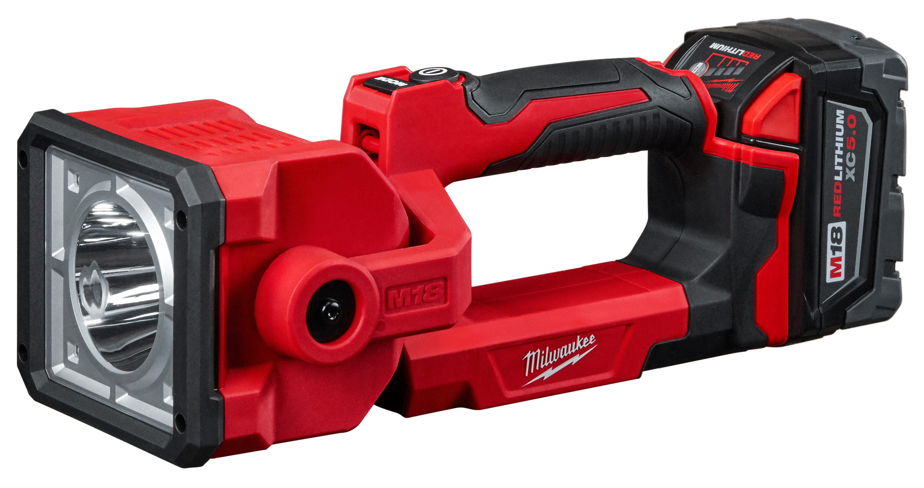Milwaukee® M18™ 2354-21 Search Light Kit, LED Lamp, 18 VDC, Lithium-Ion Battery