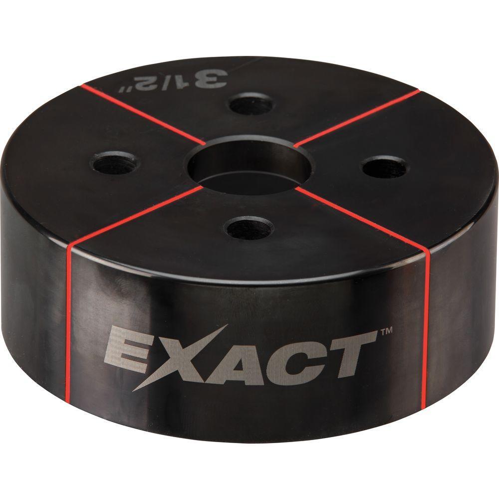 Milwaukee® EXACT™ 49-16-2676 Knockout Die, 3-1/2 in Conduit/Pipe, Steel