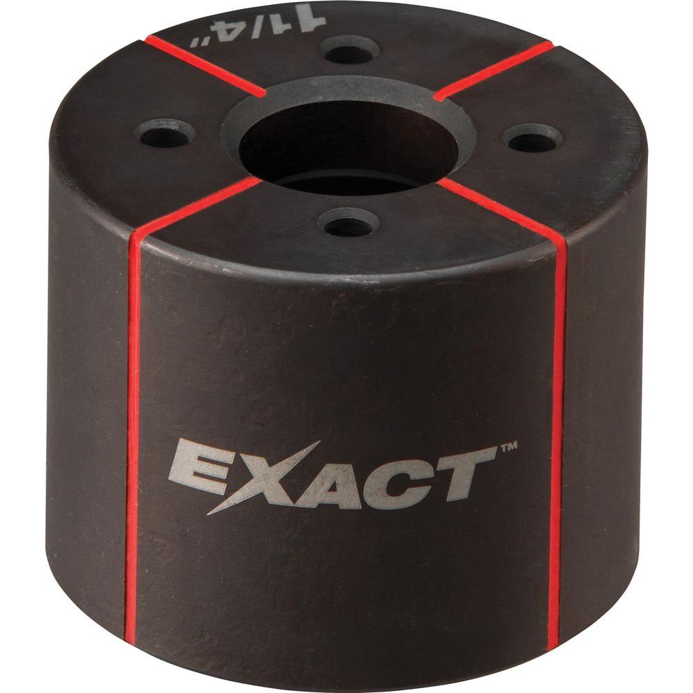 Milwaukee® EXACT™ 49-16-2666 Knockout Die, 1-1/4 in Conduit/Pipe, Steel