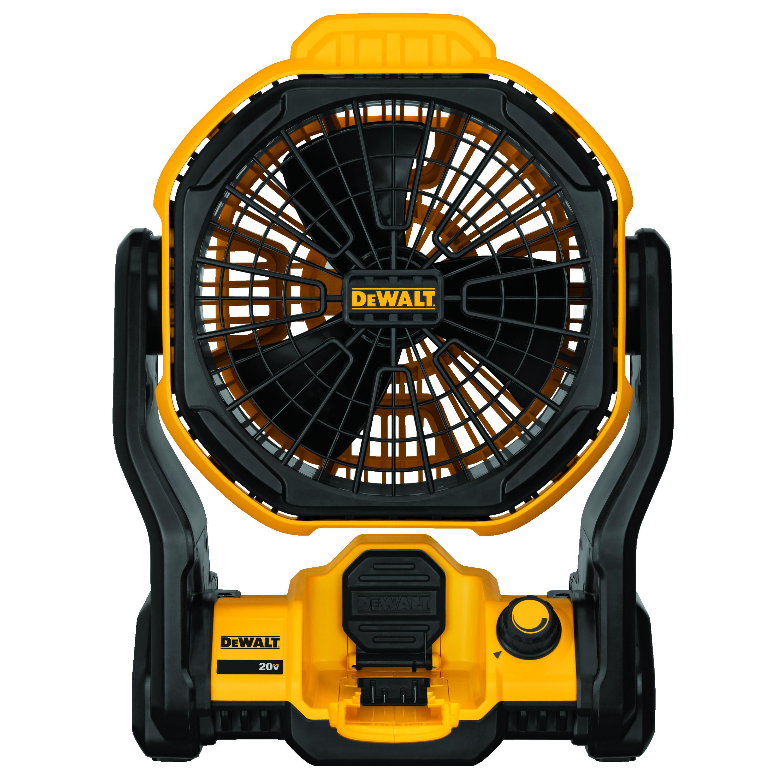 DeWALT® DCE511B Corded/Cordless Jobsite Fan, 20 VDC, 500 cfm Air Flow, 7 in Dia Blade