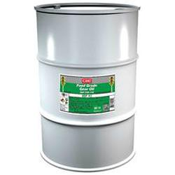 CRC® 04251 Combustible Gear Oil, 55 gal Drum, Mild Odor/Scent, Liquid Form, Food/SAE 85W140/ISO 320 Grade, Clear