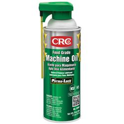 CRC® 03081 Non-Drying Non-Flammable Non-Silicone Oily Thin Machine Oil/Lubricant With Perma-Lock™, 16 oz Aerosol Can, Odorless, Liquid, Clear/Colorless
