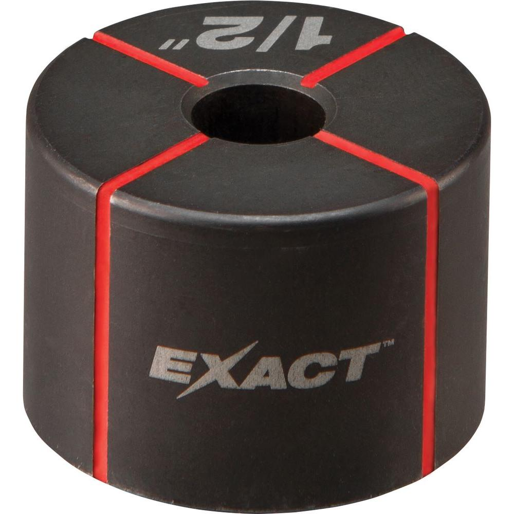 Milwaukee® EXACT™ 49-16-2660 Knockout Die, 1/2 in Conduit/Pipe, Steel