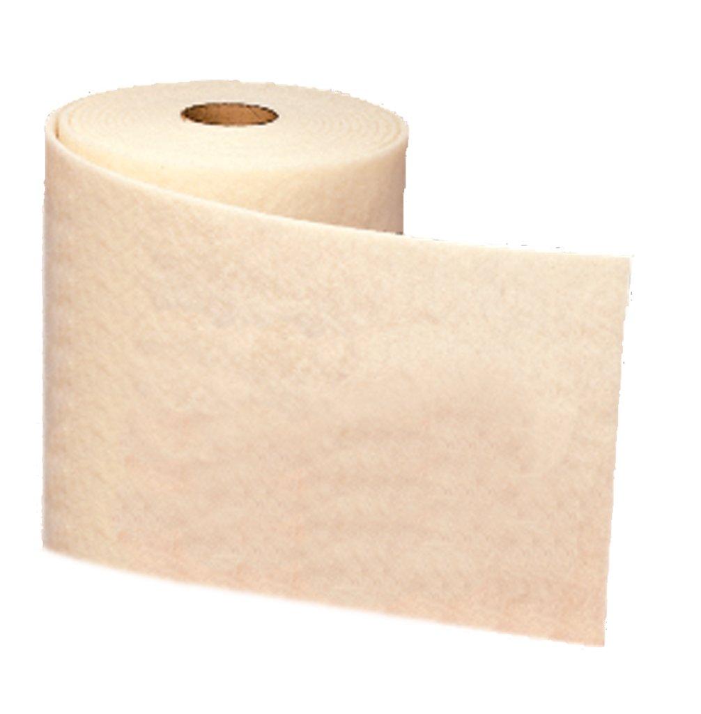 3M™ 048011-00254 CF-RL Clean and Finish Roll, 30 ft L x 12 in W, Talc Abrasive