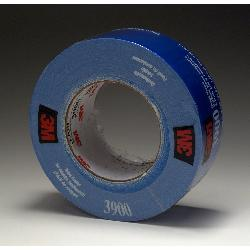 3M™ 3900-Blue Multi-Purpose Duct Tape, 54.8 m L x 48 mm W, 7.6 mil THK, Rubber Adhesive, Polyethylene Over Cloth Scrim Backing, Blue