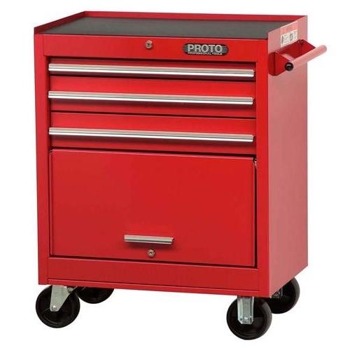 Proto® J442735-3RD 440SS Standard Duty Roller Cabinet, 35 in H x 27 in W x 18 in D, Steel
