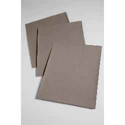 3M™ 051144-12501 211K Utility Sheet, 11 in L x 9 in W, 400 Grit, Super Fine Grade, Aluminum Oxide Abrasive, Cloth Backing