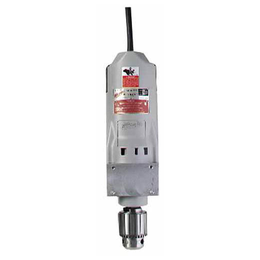 Milwaukee® 4262-1 Heavy Duty Portable Magnetic Motor, For Use With Electromagnetic Drill Press, 120 VAC, 11.5 A, 350 rpm No Load, 3/4 in Drill Capacity, 3/4 in Hex Chuck Size, 30.9 ft Cord, 1530/1600 lb Drill Point Pressure, 1-14 Tap Capacity
