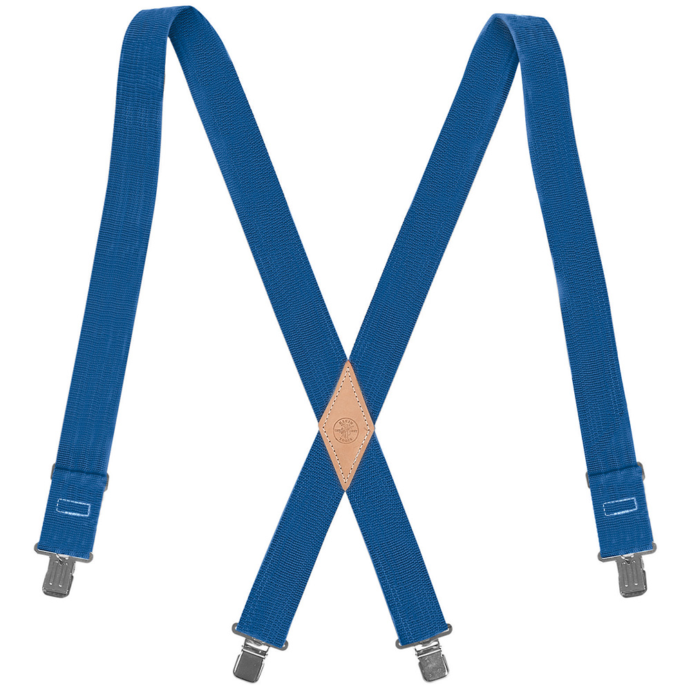 Klein® 60210B Suspender With Adjustable Back, Universal, 2 in W, Nylon Webbing