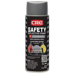 CRC® 18015 Extremely Flammable Reflective Spray Paint, 16 oz, Liquid, Aluminum/Silver, 12 hr Curing