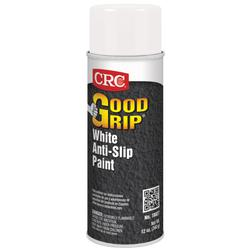 CRC® 18027 Good Grip™ Extremely Flammable Anti-Slip Paint, 16 oz, Liquid, White, 7 sq-ft, 24 hr Curing