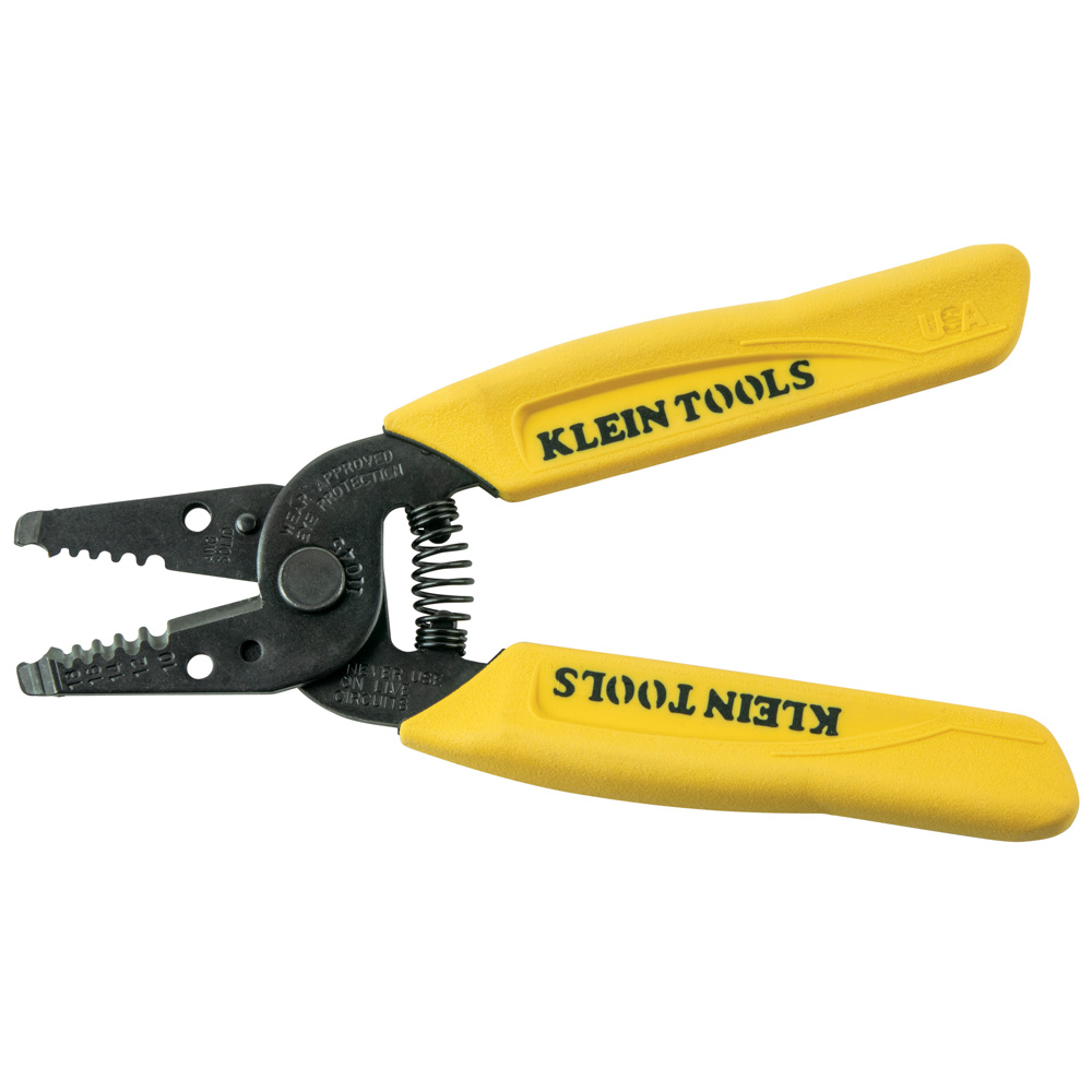 Klein® 11045 Insulated Wire Stripper/Cutter, 18 to 10 AWG