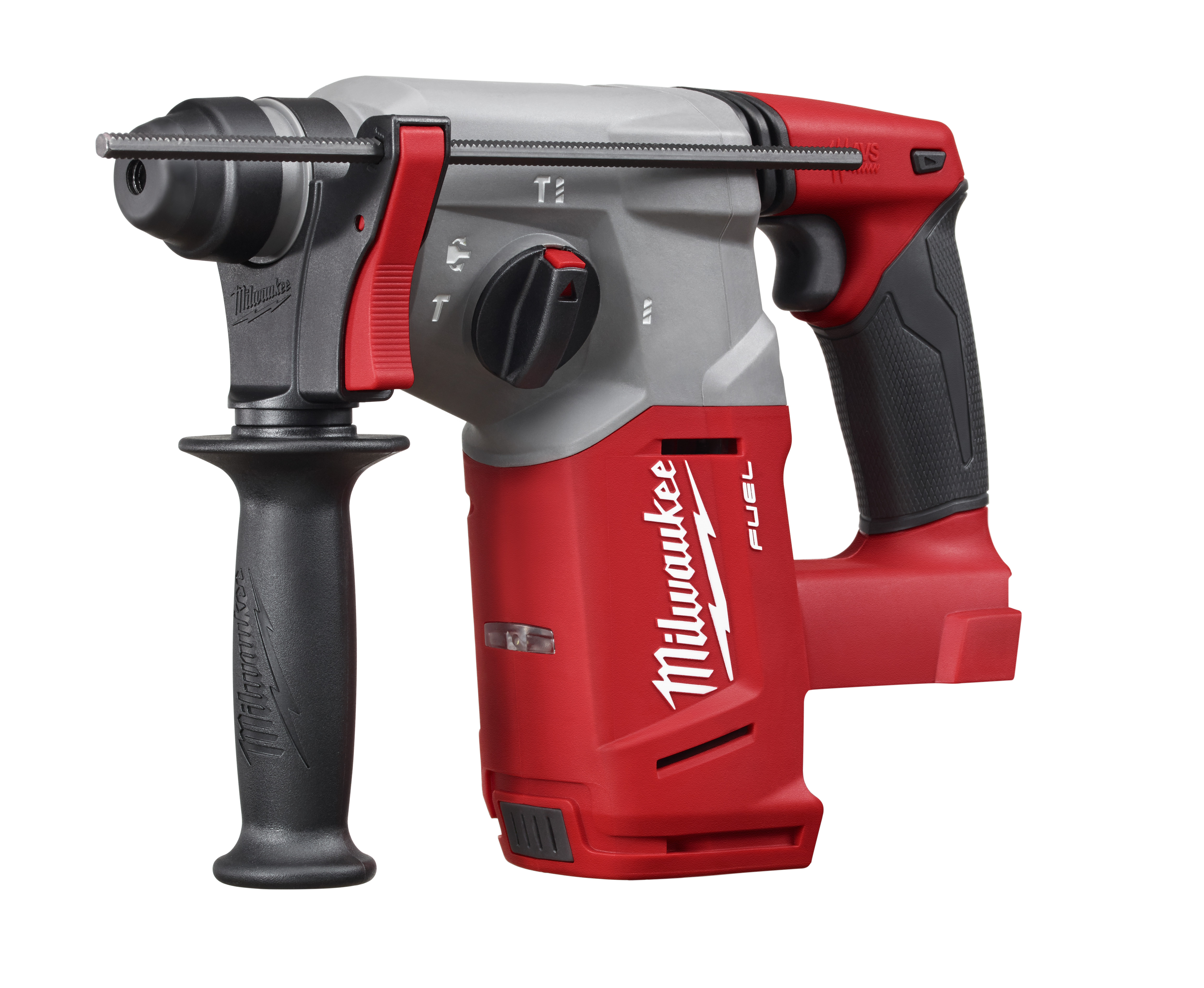 Milwaukee® M18™ FUEL™ 2712-20 Cordless Rotary Hammer, 1 in Keyless/SDS Plus® Chuck, 18 VDC, 1400 rpm No-Load, Lithium-Ion Battery