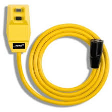 Southwire® Surge Guard® 14880074-2 Type SJTW-A Heavy Duty Right Angle GFCI Cord Set, 120 VAC, 15 A, 14 AWG Conductor