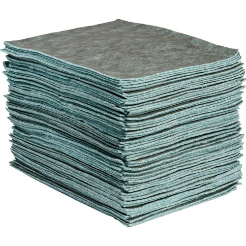 SPC® Re-Form® Plus RFP100 2-Ply Heavyweight Medium Linting Perforated Absorbent Pad, 19 in L x 15 in W, 40 gal Absorption, Cellulose
