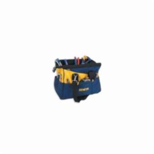 Irwin® 4402020 Soft Sided Contractors Bag, 16 in H x 16 in W x 16 in D, 9 Inside/11 Outside Pockets, Vinyl