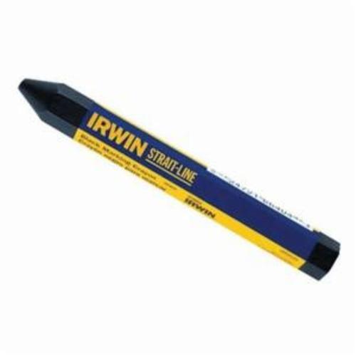 Irwin® Strait-Line® 66404 Lumber Crayon, Wax, Black