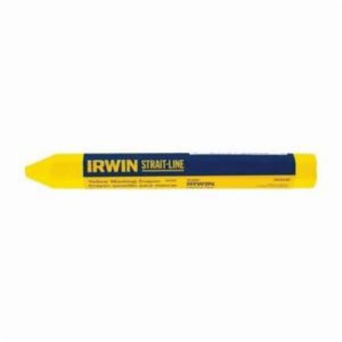 Irwin® Strait-Line® 66406 Lumber Crayon, Wax, Yellow