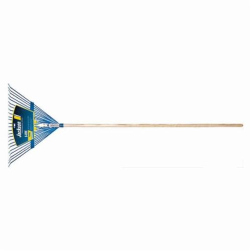 Jackson® 1923700 Kodiak J-250 Leaf Rake, 24 Tines, Steel, Hardwood Handle