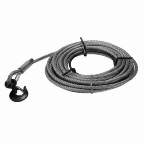 JET® 286529 JG Series Wire Rope With Cabel, 3 ton Cable, 66 ft L