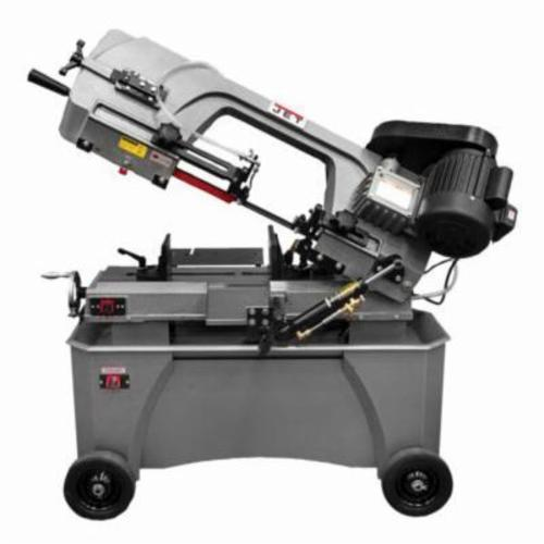 BLACK FRIDAY PRICING - JET® 414559 Horizontal Step Pulley Band Saw, 5 in Round, 6 x 4 in/5 x 5 in Rectangle 45 deg Capacity, 7 in Round, 4 x 11 in/7 x 10-1/4 in Rectangle 90 deg Capacity, 3/4 hp, 115/230 VAC, 86/132/178/260 sfpm Speed