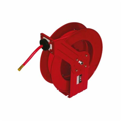 JET® 426238 Heavy Duty Hose Reel, 50 ft Hose, 300 psi Pressure, 20-1/2 in Dia x 9 in W Reel, Import