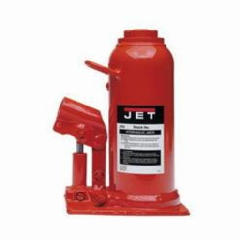 JET® 453312 JHJ Heavy Duty Hydraulic Bottle Jack, 12 ton Load, 9-1/2 in, 18-1/2 in, 5-7/8 in, 3-1/8 in Screw Length