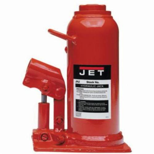 JET® 453317 JHJ Heavy Duty Hydraulic Bottle Jack, 17.5 ton Load, 10-3/8 in, 20 in, 6-1/2 in, 3-1/8 in Screw Length