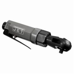 JET® 505300 R6 Stubby Ratchet, 1/4 in Drive, 15 ft-lb Torque, 300 rpm Speed, 2.5 cfm Air Flow, 90 psi