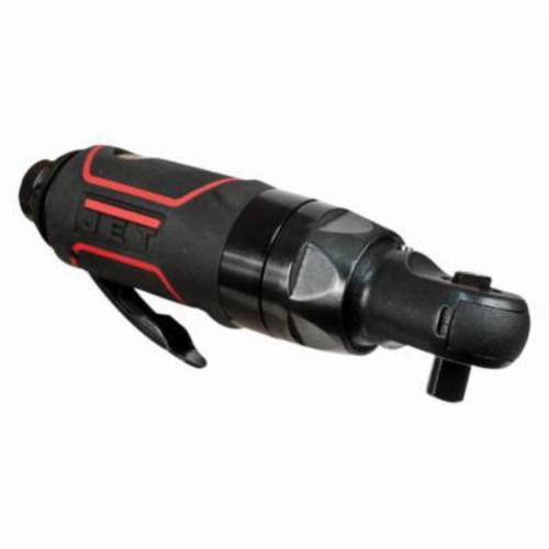 JET® 505321 R12 Stubby Ratchet, 3/8 in Drive, 50 ft-lb Torque, 700 rpm Speed, 3.1 cfm Air Flow, 90 psi