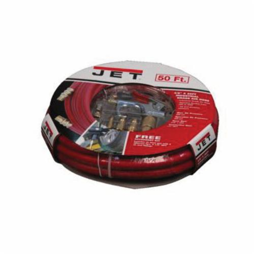 JET® JAH-3850 High Performance Air Hose, 1/4 in, NPT, 50 ft L, 300 psi Working, Synthetic PVC