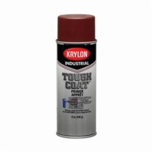 Krylon® Tough Coat® A00339 S003 Rust Control Solvent Based Spray Primer, 16 oz Container, Liquid Form, Red Oxide, 20 sq-ft Coverage