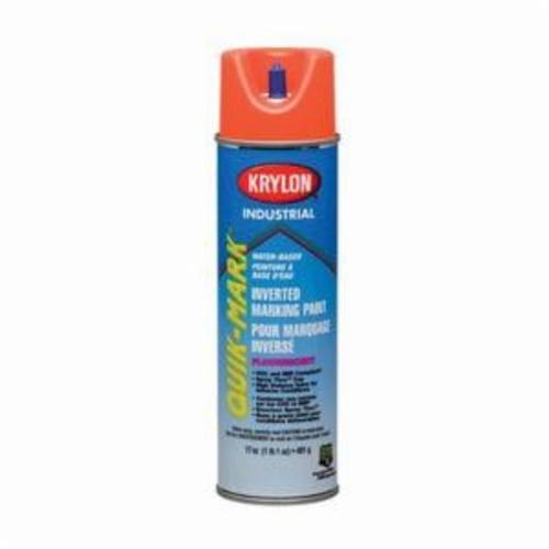 Krylon® Quik-Mark™ A03550 Solvent Base Inverted Marking Paint, 20 oz Container, Liquid Form, Asphalt Black