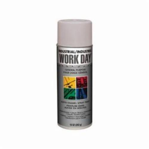 Krylon® Work Day™ A04418000 Enamel Spray Primer, 16 oz Container, Liquid Form, Gray, 9 to 13 sq-ft Coverage