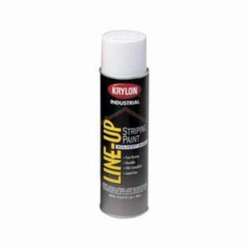 Krylon® Line-Up® K08300 Pavement Striping Paint, 20 oz Container, Liquid Form, Highway White