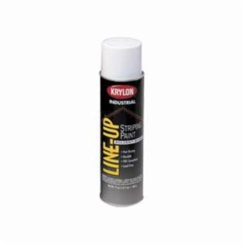 Krylon® Line-Up® K08302 Solvent Base Pavement Striping Paint, 20 oz Container, Liquid Form, Handicap Blue, 602 sq-ft Coverage