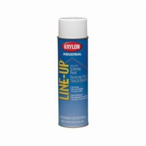 Krylon® Line-Up® K08305 Water Base Marking Paint, 20 oz Container, Liquid Form, White, 602 sq-ft Coverage
