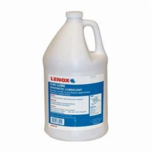 LENOX® BANDSAW C/AI 68024LNX Cutting and Grinding Lubricant, 1 gal Bottle, Mild, Liquid, Transparent Blue