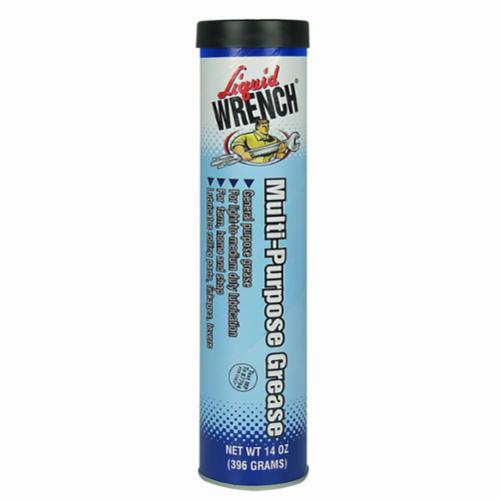 Liquid Wrench® GR011 Multi-Purpose Grease, 14 oz Plastic Tube, Semi-Solid, Black, -10 to 200 deg F