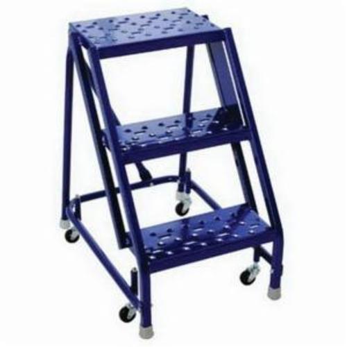 Louisville® GSW1603-W03 Rolling Warehouse Ladder, 350 lb Load, 30 in x 24 in x 10 in Platform
