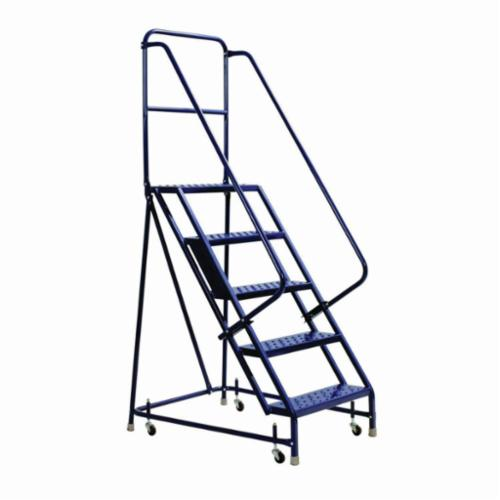 Louisville® GSW2402-W01 Type IAA Rolling Warehouse Ladder With 20 in Extra Deep Top, 2 ft Ladder, 450 lb Load, 1 ft 8 in