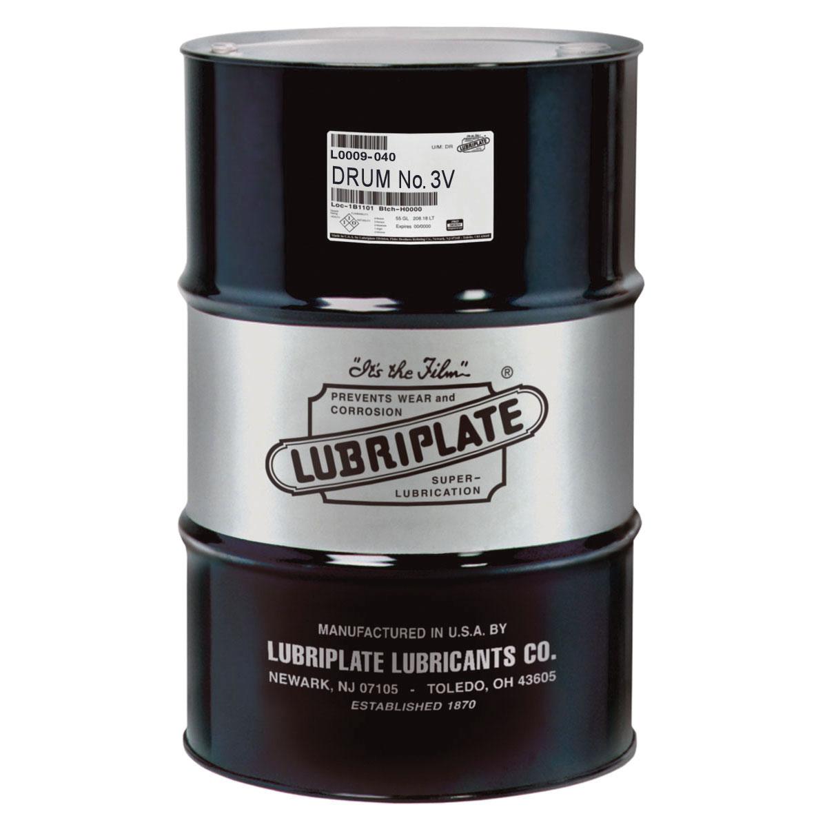 Lubriplate® L0009-040 3-V Petroleum Based Machine Oil, 415 lb Drum, Mineral Oil Odor/Scent, Liquid Form, Amber